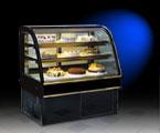 13HE-A2 圆弧后移门蛋糕柜