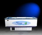12SX-不锈钢包边镀膜玻璃岛柜