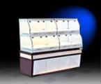 13RL-B-木制单边面包岛柜