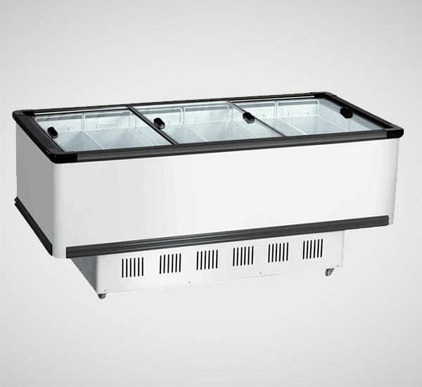 SD/SCK 新型无框玻璃门岛柜