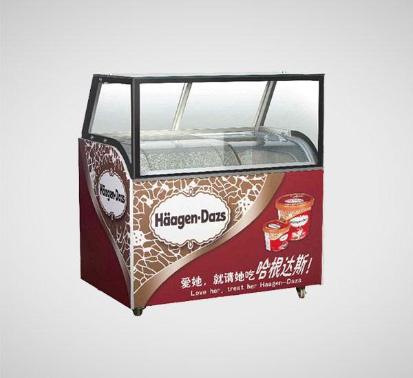 HYBM-直角冰淇淋柜